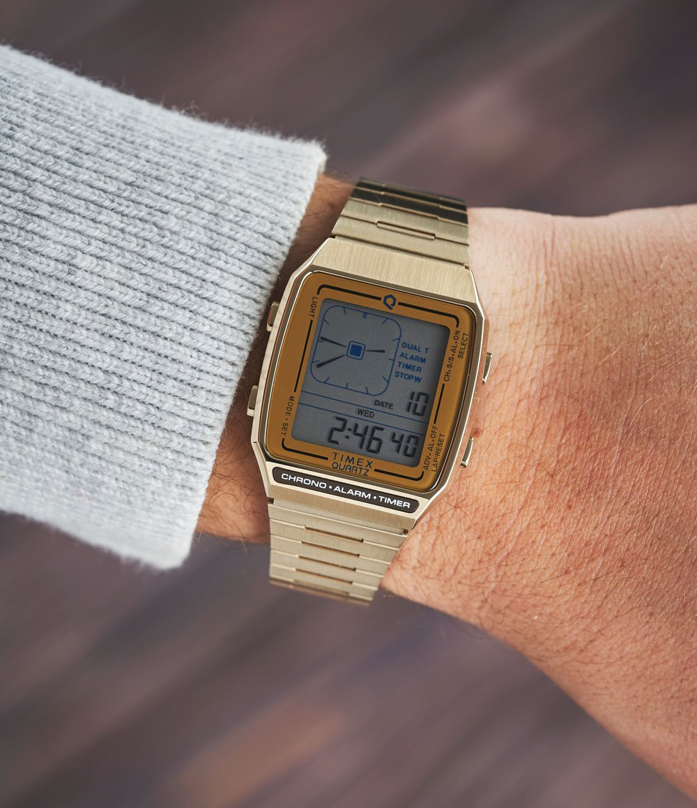 Q Timex Reissue Digital LCA