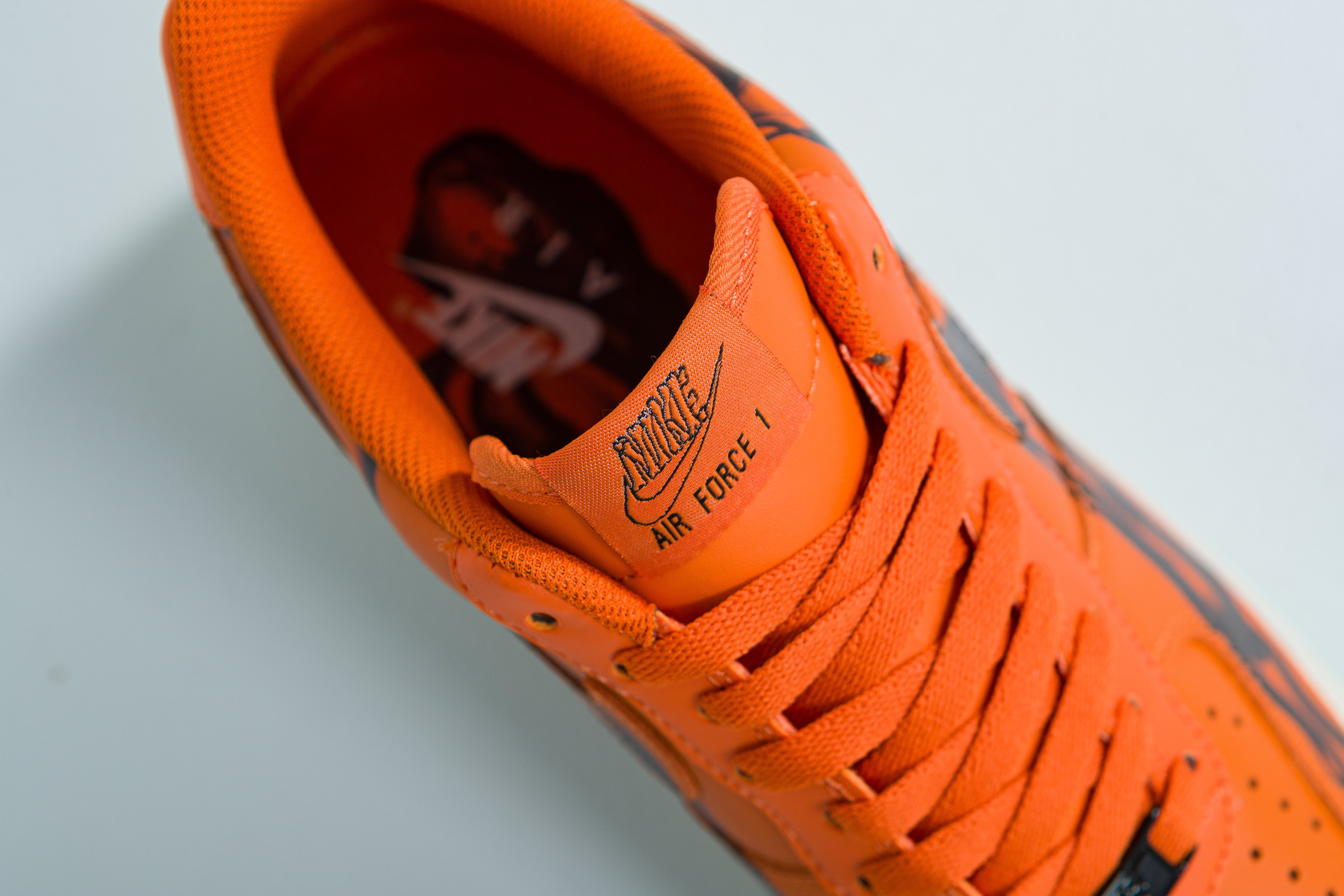 Nike - Air Force 1 07' Skeleton QS - Starfish/Starfish-Black - Up There