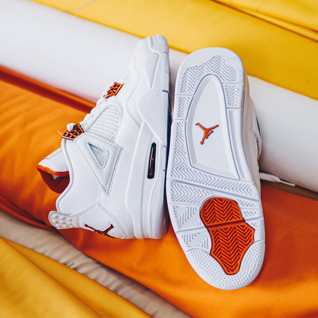 Air Jordan 4 Retro Metallic Orange - CT8527-118
