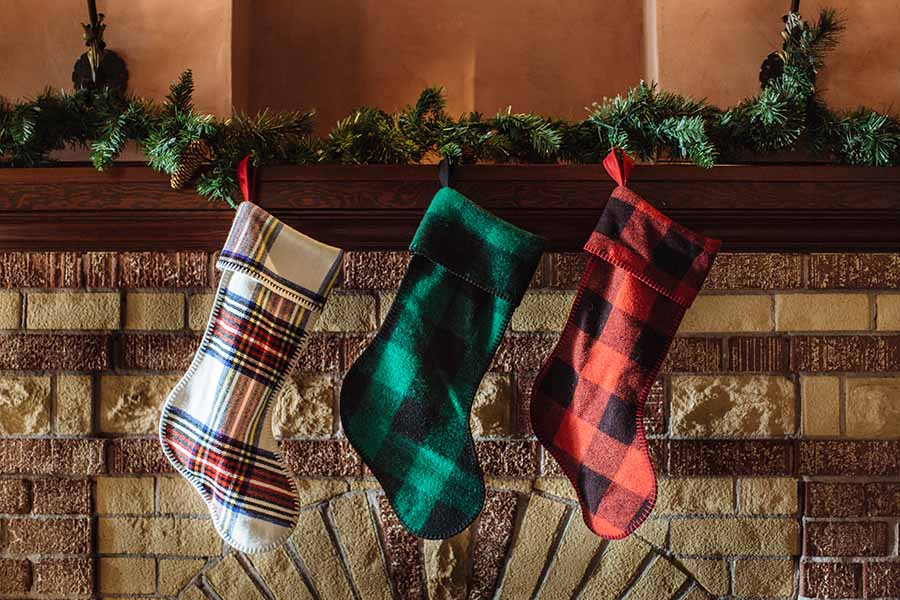 image of Holiday Wool Stockings