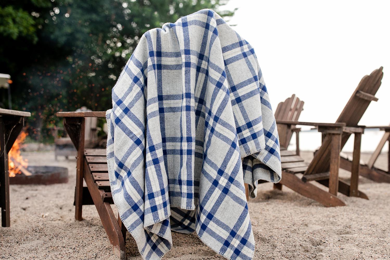 image of Minnehaha Falls Wool Throw