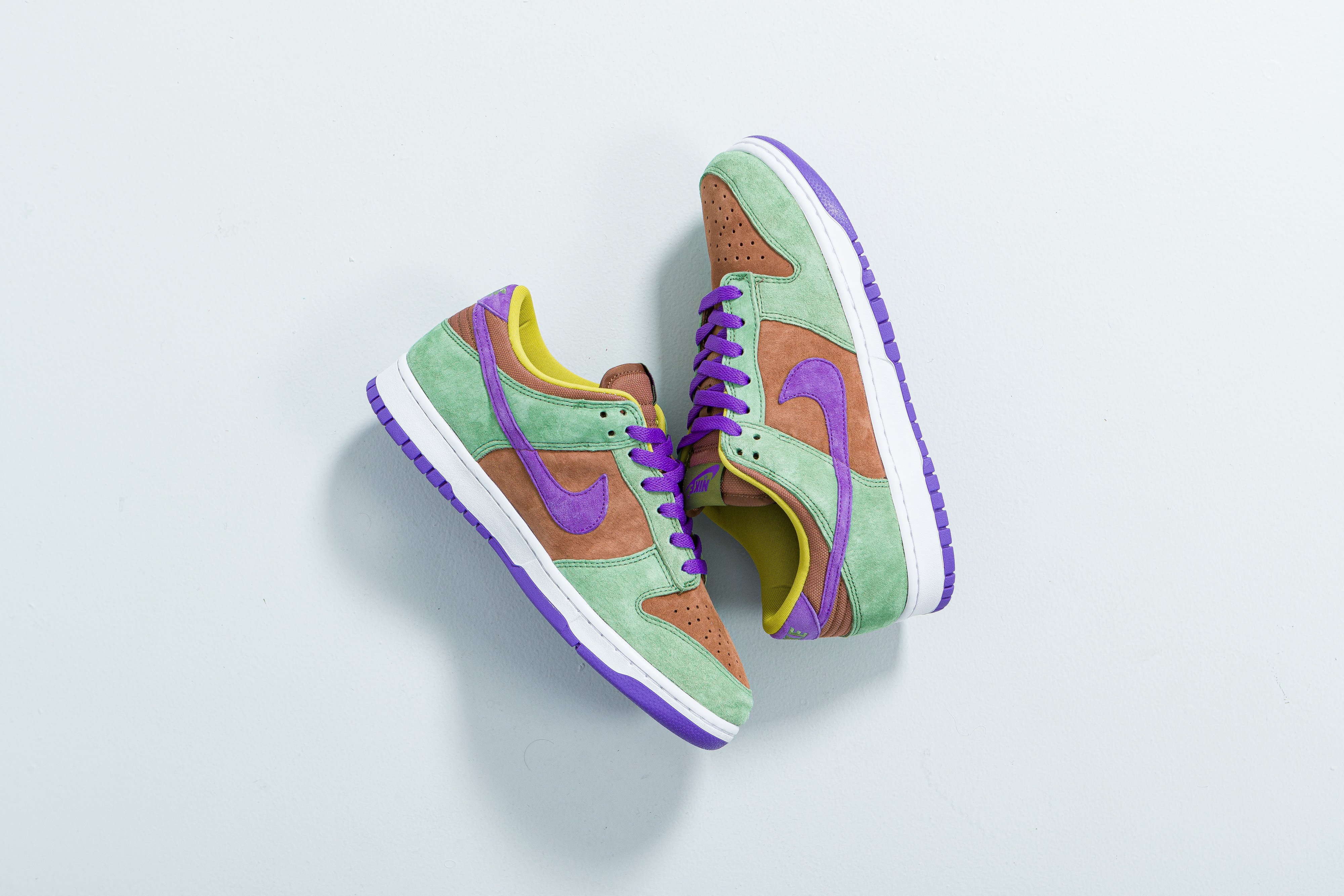 Nike - Dunk Low SP - Veneer/Deep Purple-Autumn Green - Up There