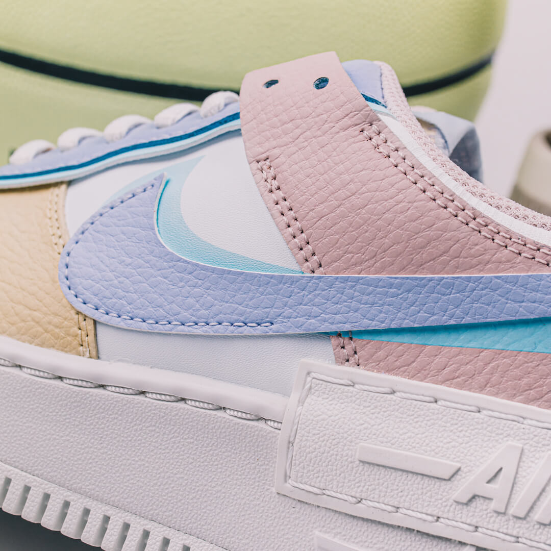 air force 1 shadow enfant fille pastel