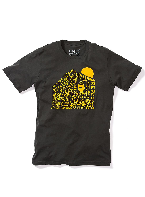 Mount Tam T-Shirt in Gunpowder