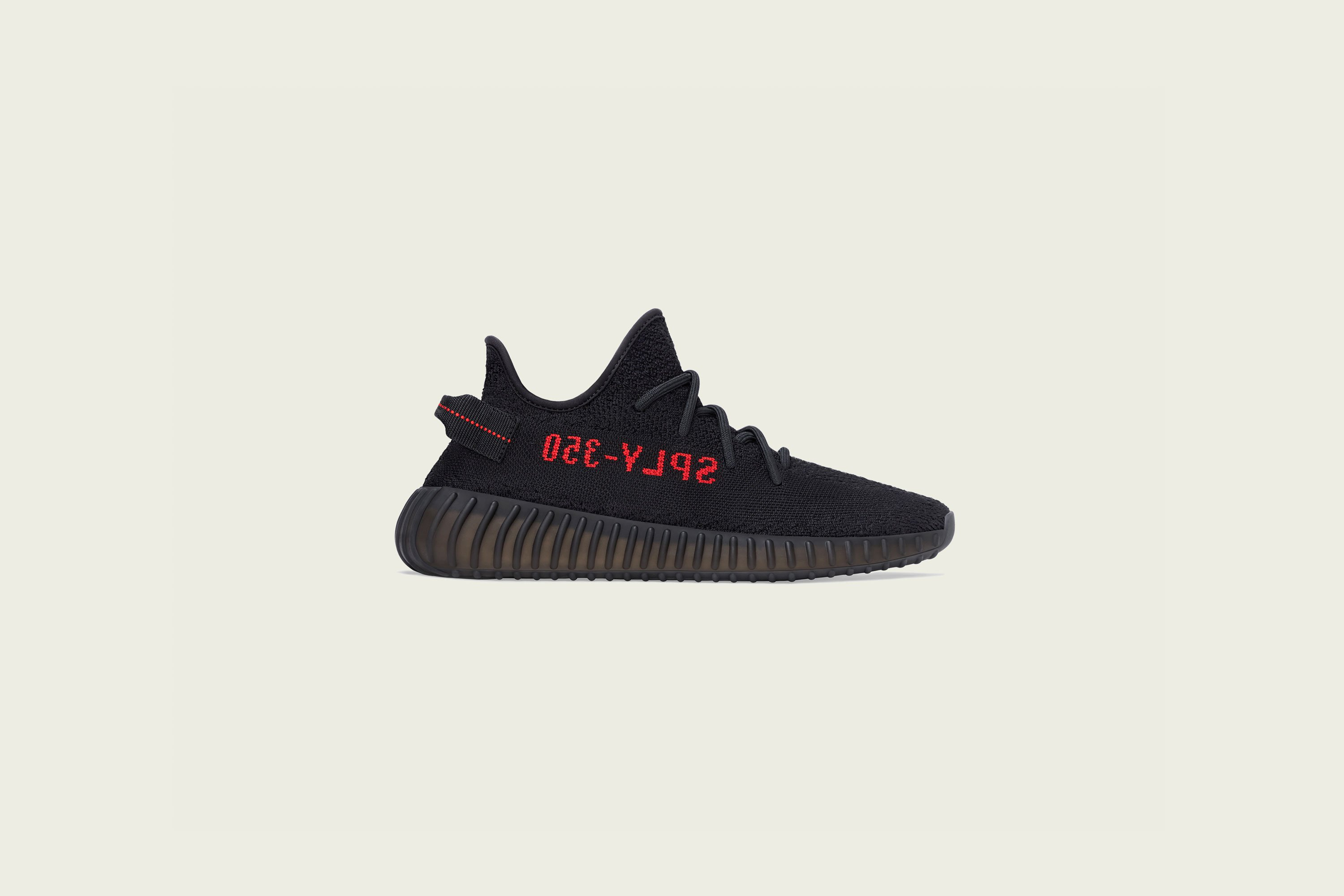 adidas - Yeezy Boost 350v2 - Core Black/Red - Up There