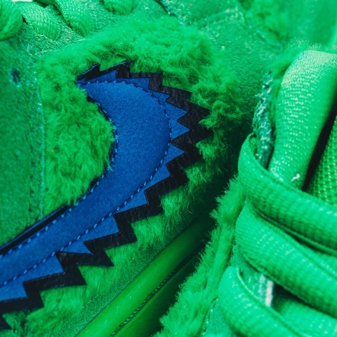 Nike SB Dunk Low Grateful Dead Bears Green - CJ5378-300