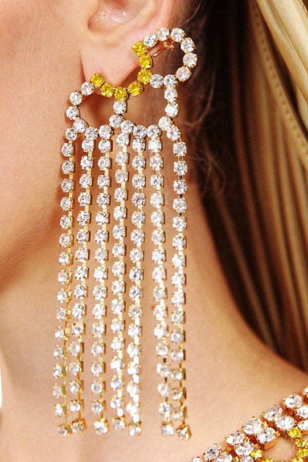 Petal Chandelier Earrings