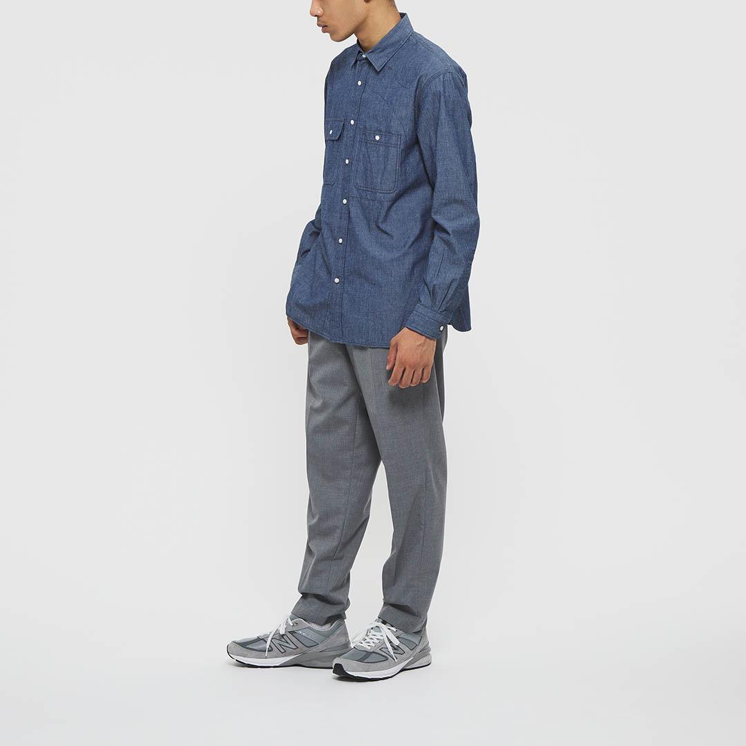 "Model: Height 5'8"" | Wearing: INDIGO / M"