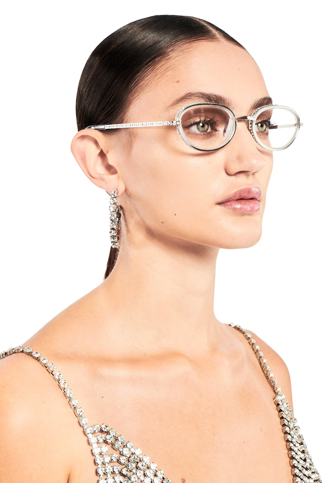AREA x Linda Farrow Glasses