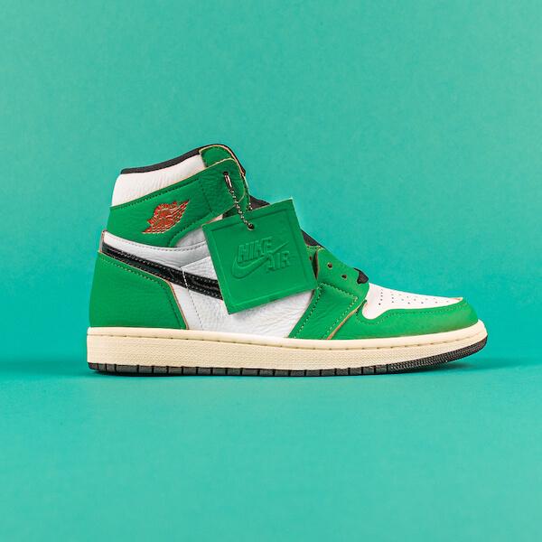 Air Jordan 1 High Lucky Green - DB4612-300