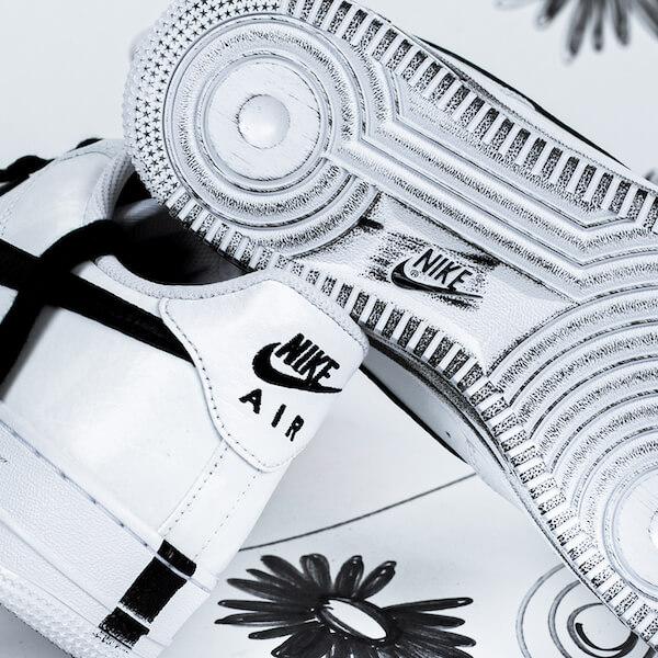 Nike Air Force 1 Low G-Dragon Peaceminusone Para-Noise White - DD3223-100