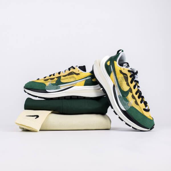 Nike Vaporwaffle Sacai Tour Yellow Stadium Green - CV1363-700