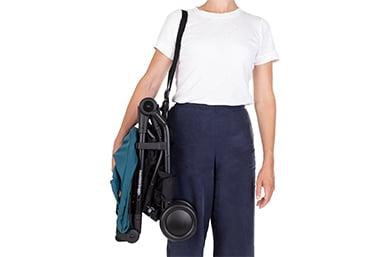 a convenient shoulder strap