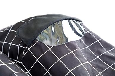 magnetic peek-a-boo flaps