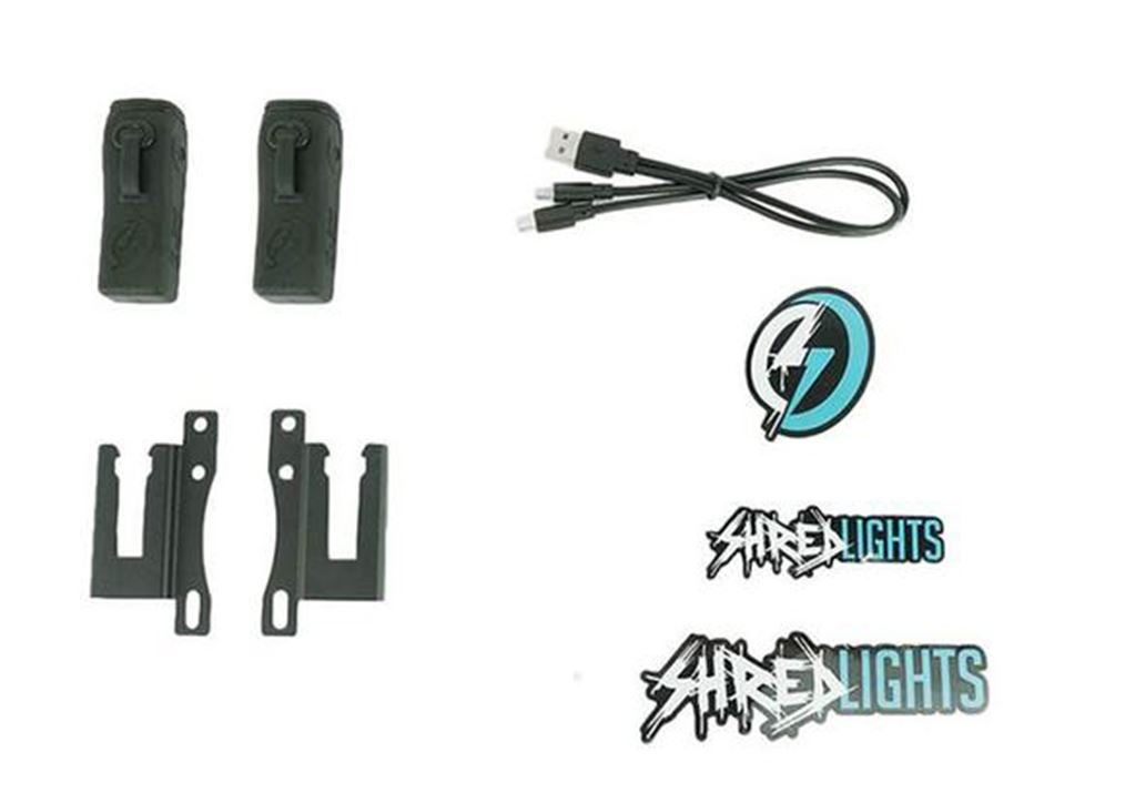 Shred Lights SL-200 - Front Twin Set