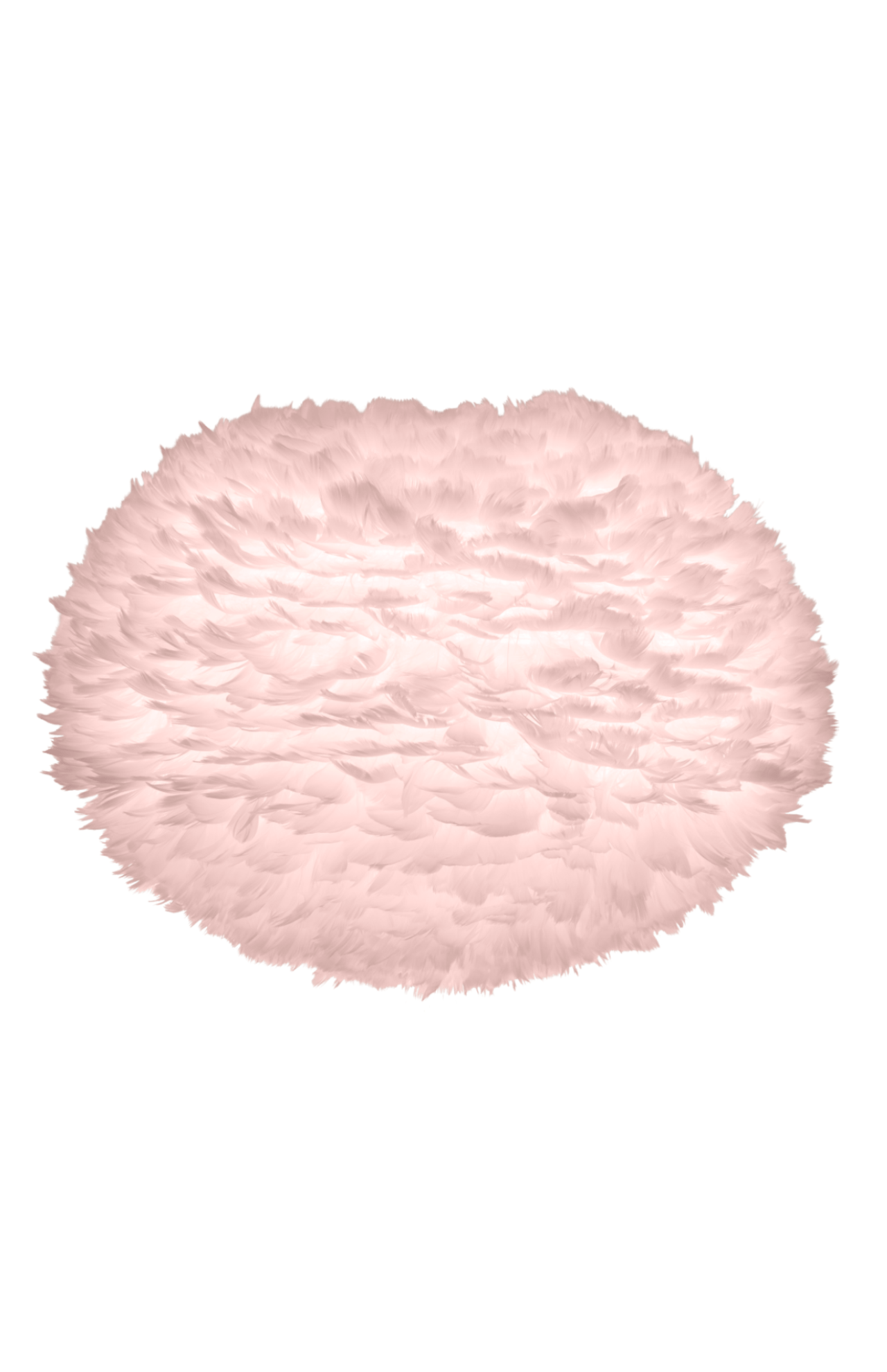 Umage Eos Feather Large Pink Lamp, Pink Large Lamp Shades
