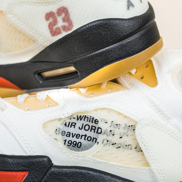Air Jordan 5 Retro Off-White Sail - DH8565-100