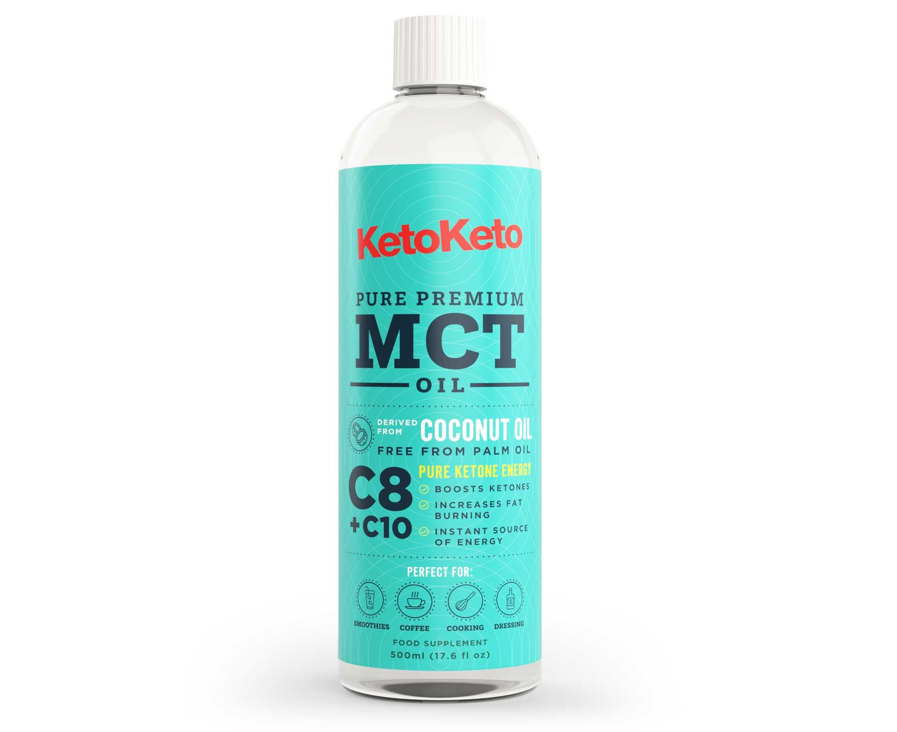 100% Coconut Premium MCT Oil