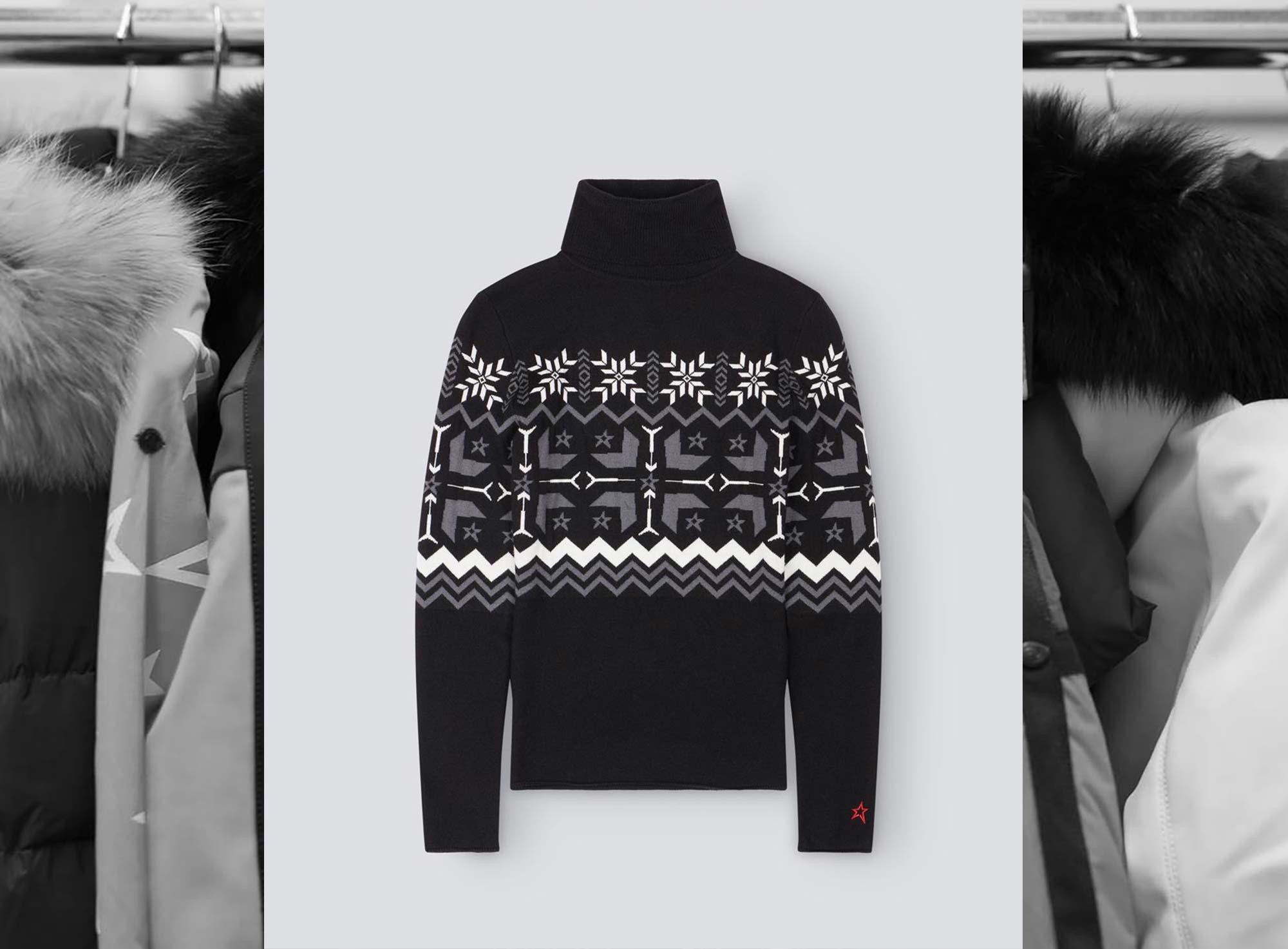 Women's Nordic Turtle-Neck Sweater