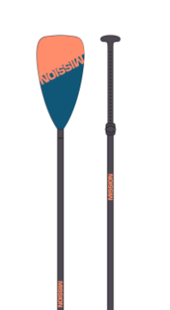 PADDLE :: 3 Piece Collapsible Paddle - Carbon