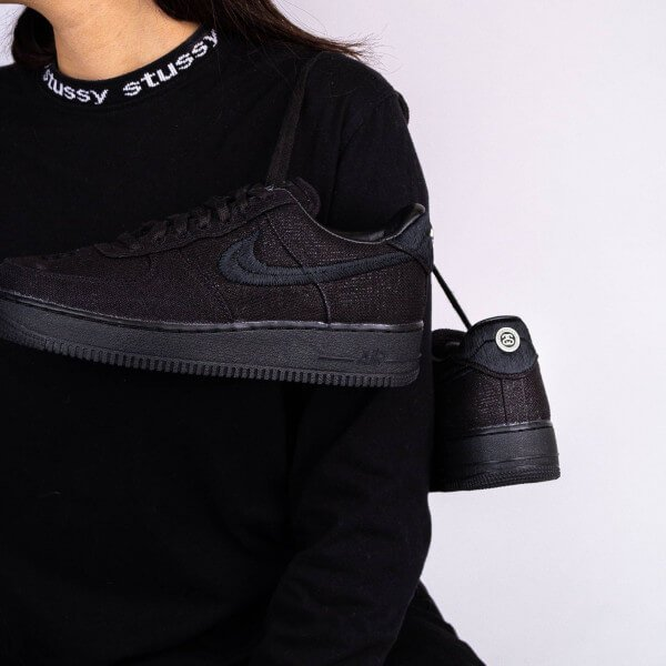 Nike Air Force 1 Low Stussy Black - CZ9084-001