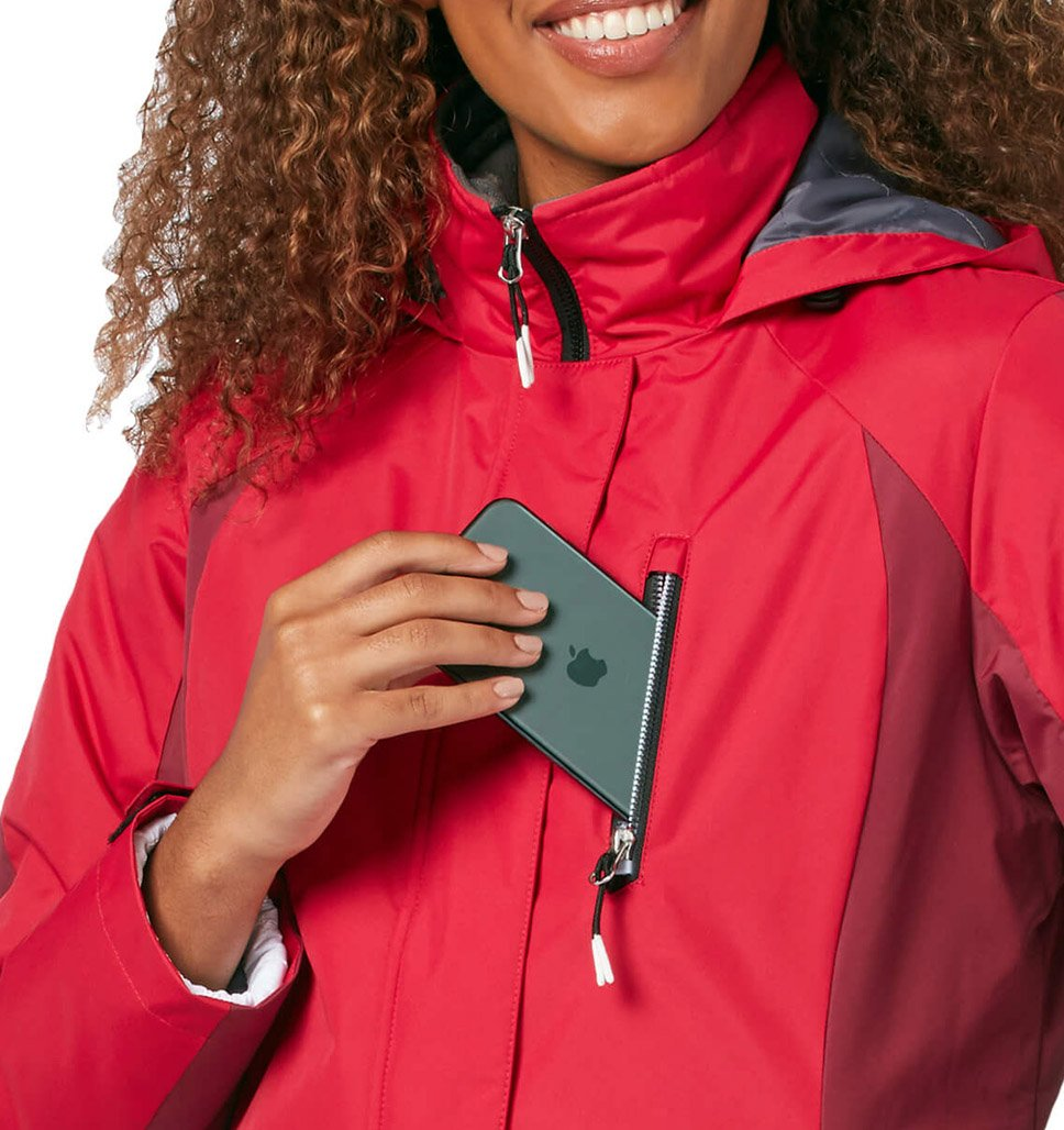 Women's FreeCycle™ Black Run 3-in-1 Systems Jacket