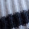 Dark Grey/Ivory Stripes