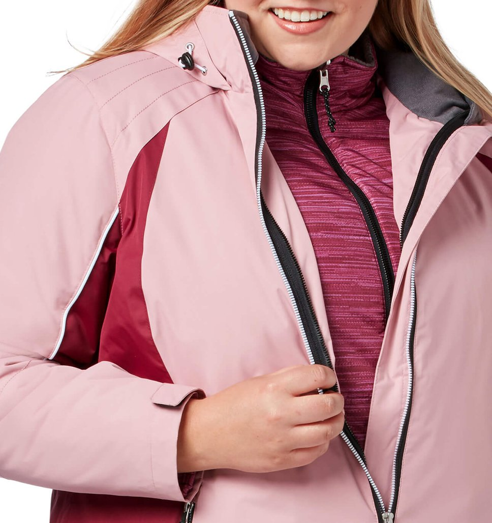 Women's Plus Size Glide 3-in-1 Systems Jacket