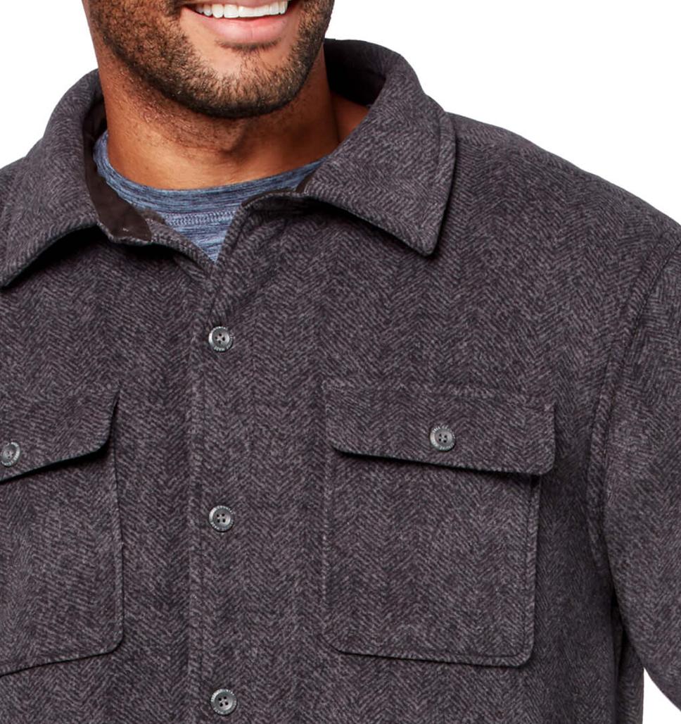 Men's Adirondack Chill Out Fleece Overshirt