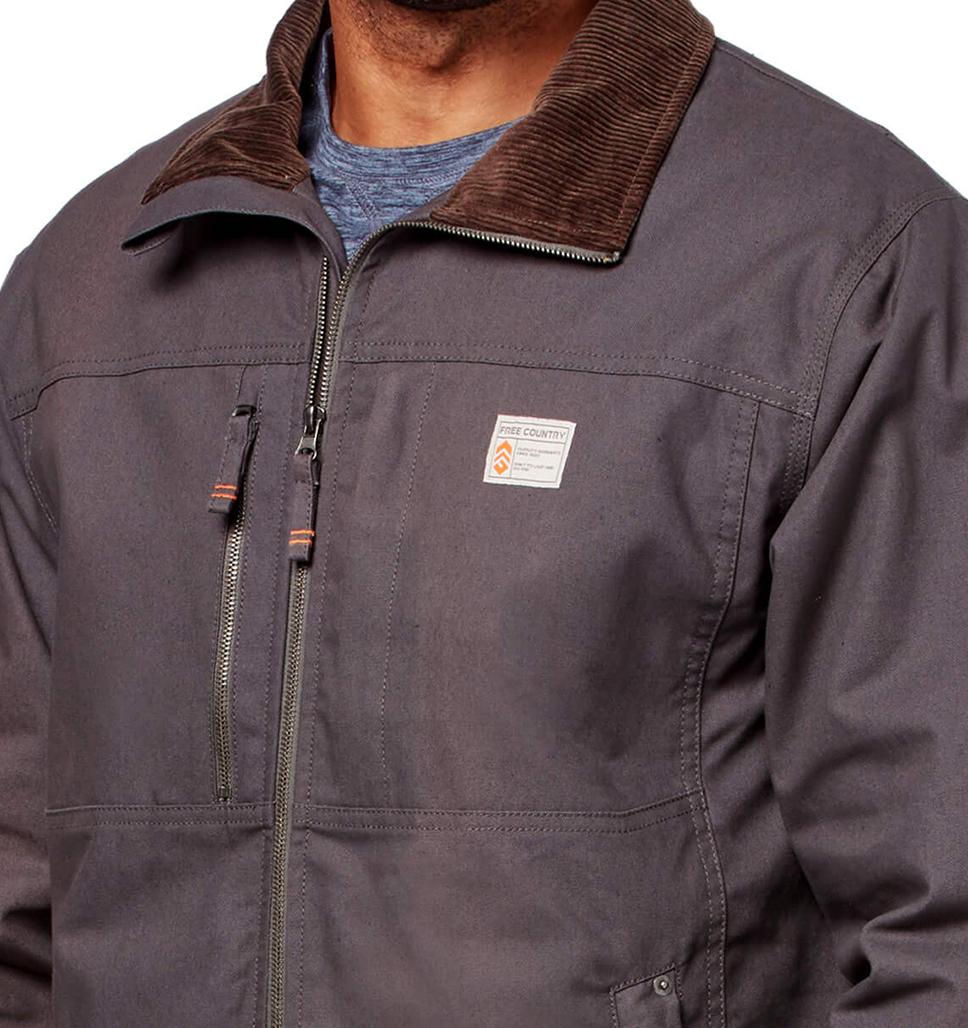 Men's Cotton Canvas Workwear Jacket