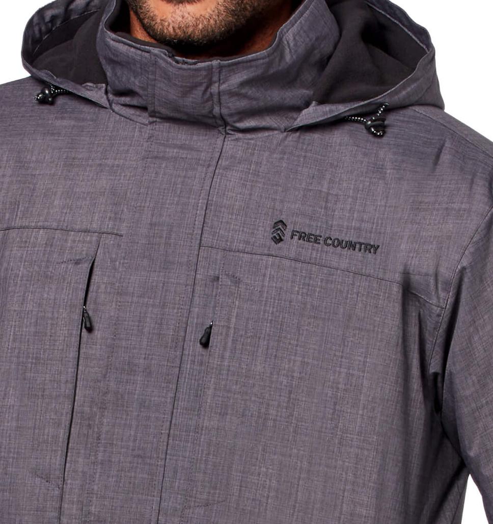 Men's Cross Hatch 3-in-1 Systems Jacket