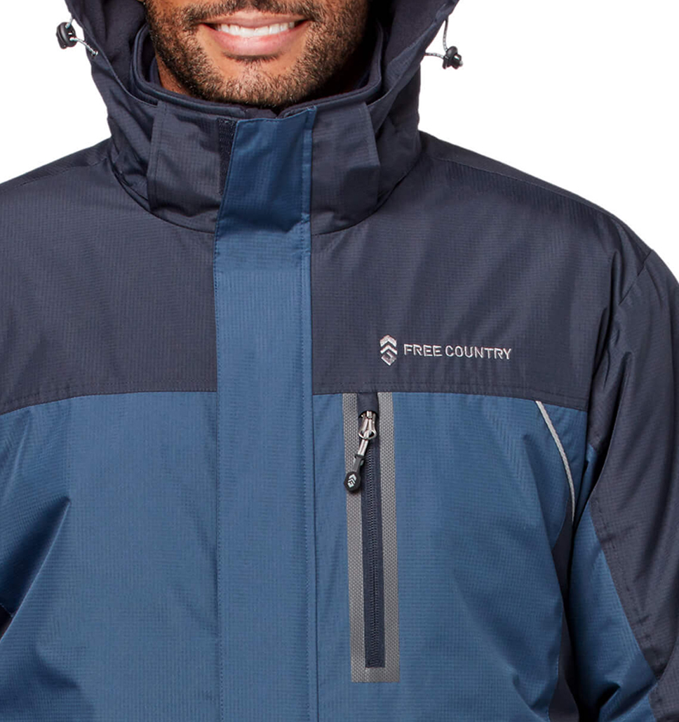 Men's FreeCycle™ Jack Frost 3-in-1 Systems Jacket