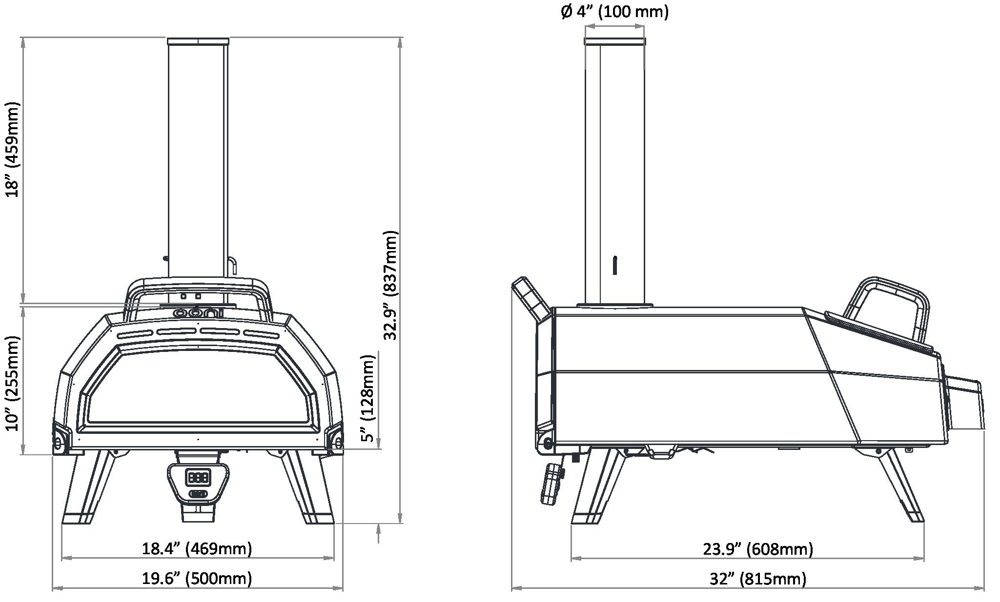 Karu 16 Multi-Fuel Pizza Oven Blueprints