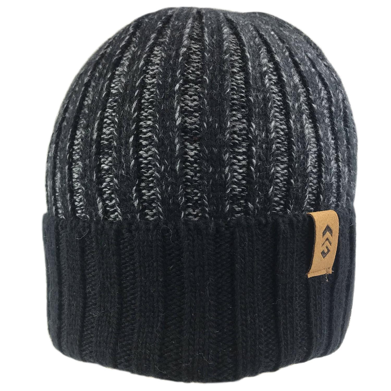 Men's Rib Knit Cuffed Beanie
