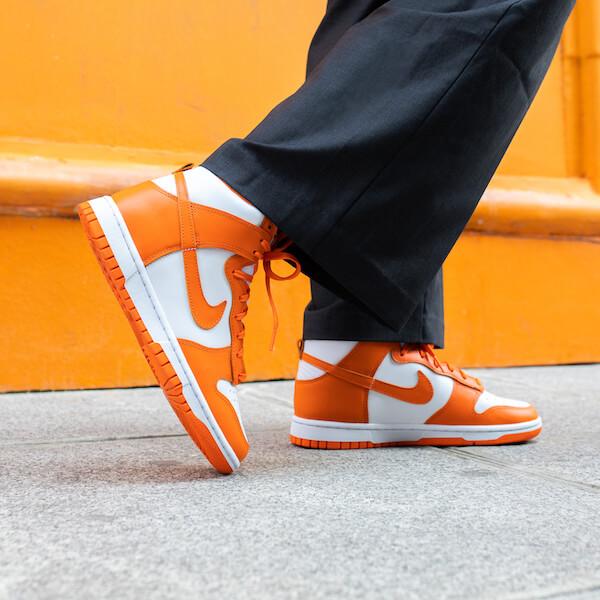Nike Dunk High Syracuse (2021) - DD1399-101