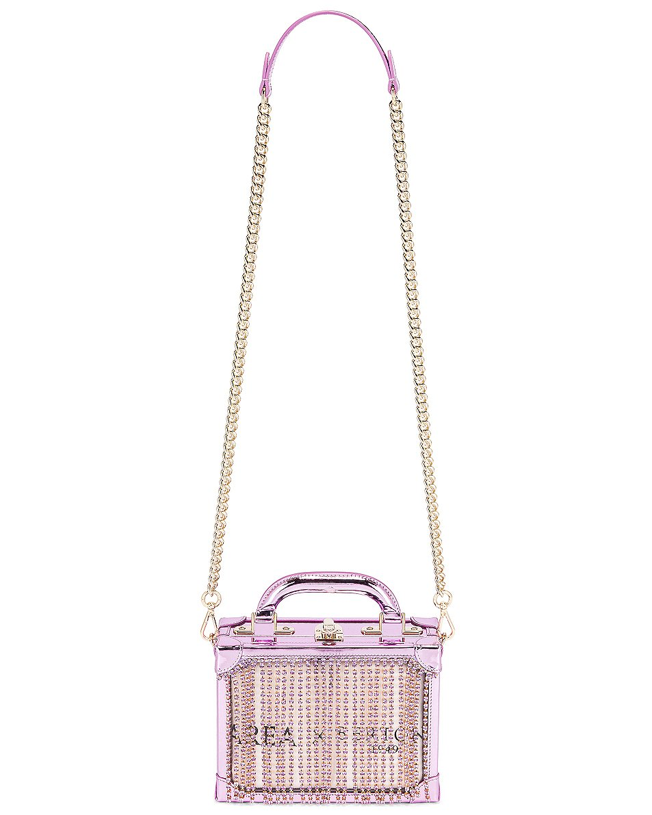 Fringe Box Bag Lilac