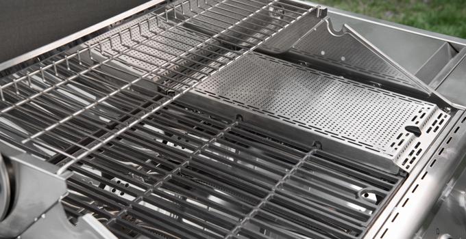Spareribs Stegetid Gasgrill : Evolution gasgrill med 4 brændere og sidebrænder i rustfrit stål