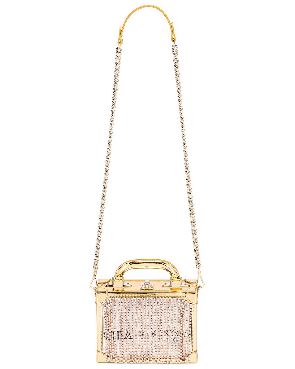Fringe Box Bag Gold