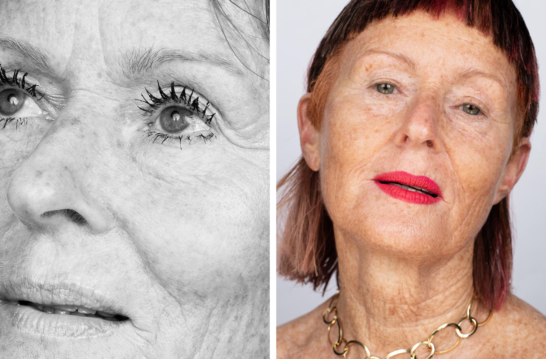Photos by Denise Boomkens for And Bloom. Makeup: Esther van Maanen, Hair: Mark van Westerop, Model: Rosalie