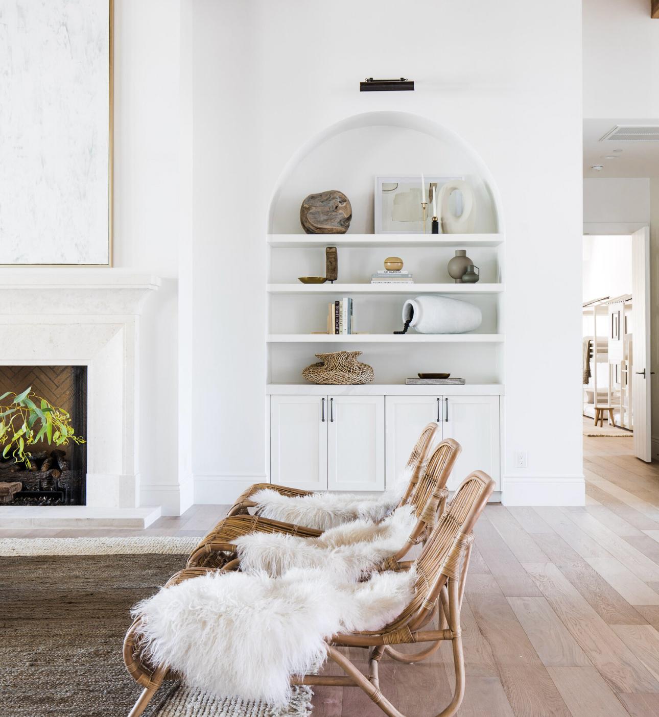 The Lifestyled Co #CortezBuild Living Room Details