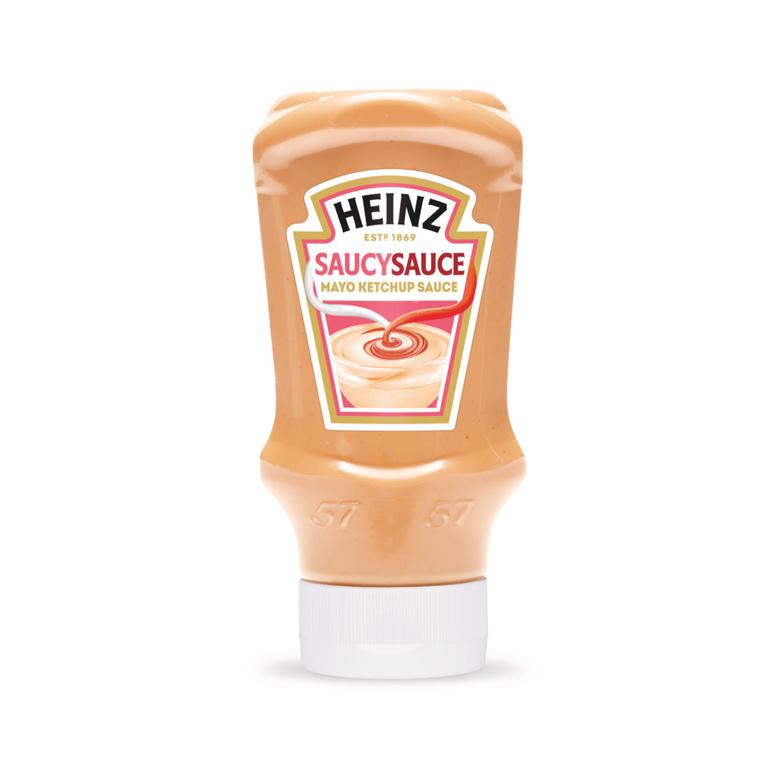 Photograph of 1 x 425g Heinz Saucy Sauce product