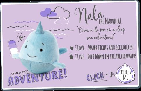 Nala the Narwhal