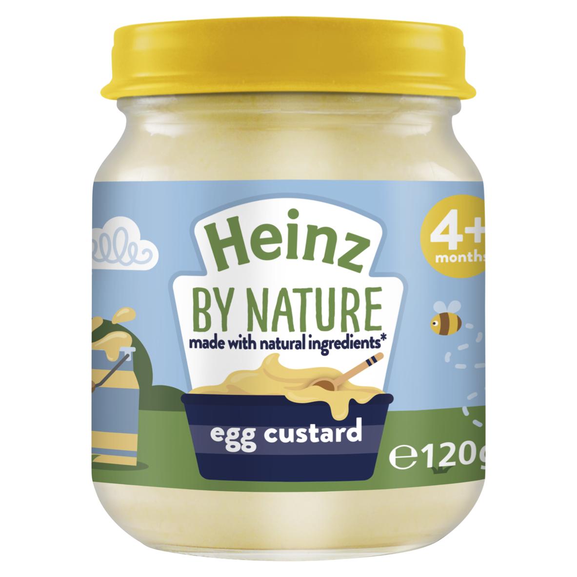 Photograph of 1x 6-pack Heinz Egg Custard 120g product