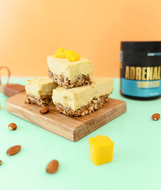 RECIPE - MANGO CHEESECAKE BARS