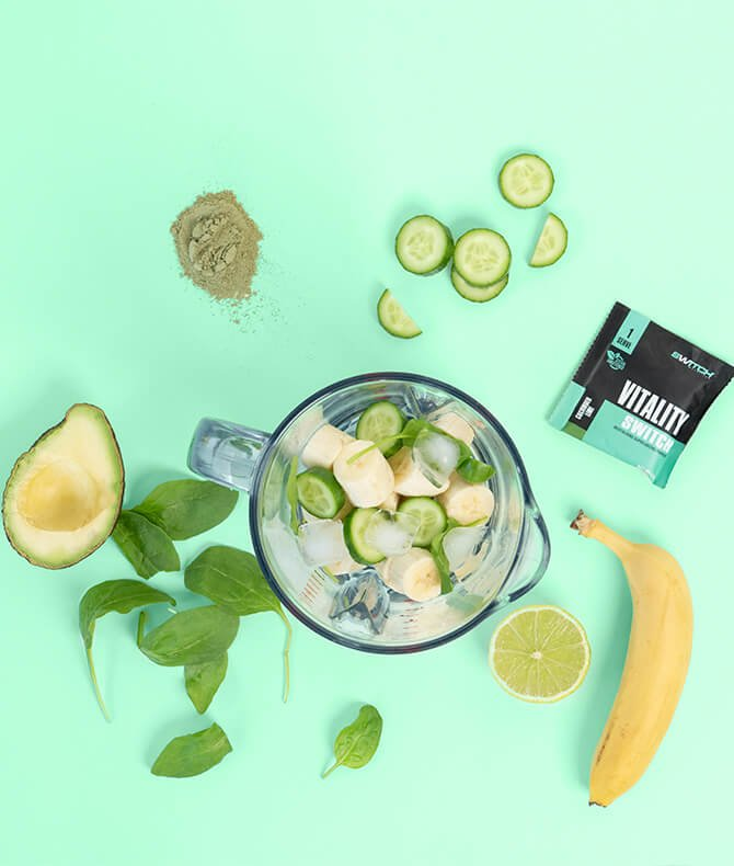 RECIPE - CUCUMBER LIME GREEN SMOOTHIE