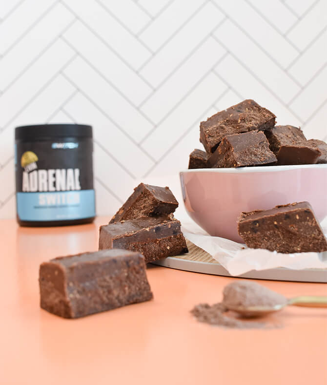 RECIPE - ADRENAL CHOC FUDGE