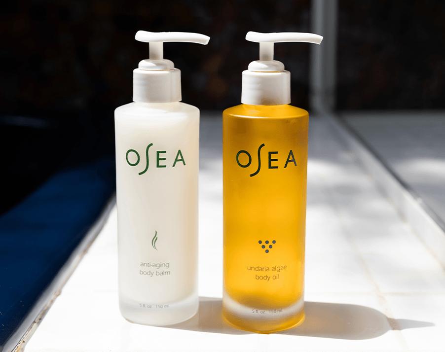 Anti-Aging Body Balm and Undaria Algae Body Oil