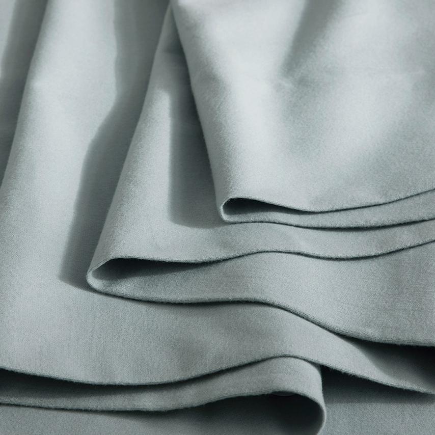 Flannel Solid Sheet Set