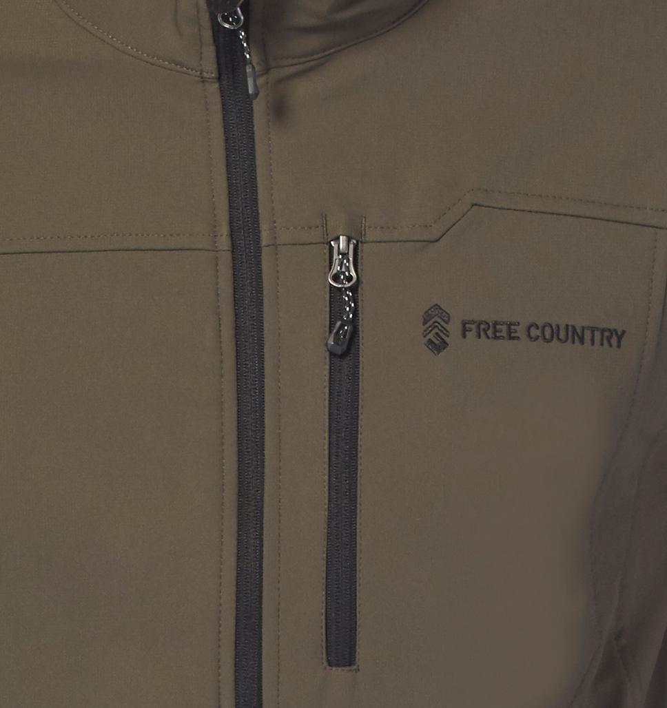 Men's Big and Tall Intrepid Super Softshell® Jacket