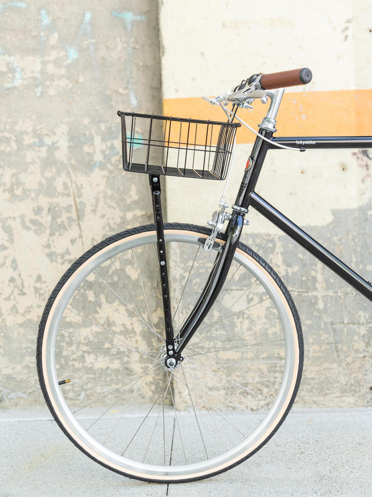 Shallow Basket, Black